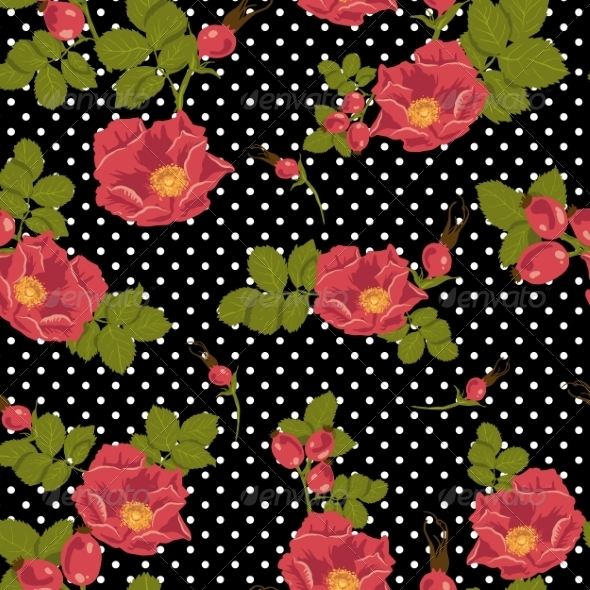 GraphicRiver Seamless Floral Pattern 7046667