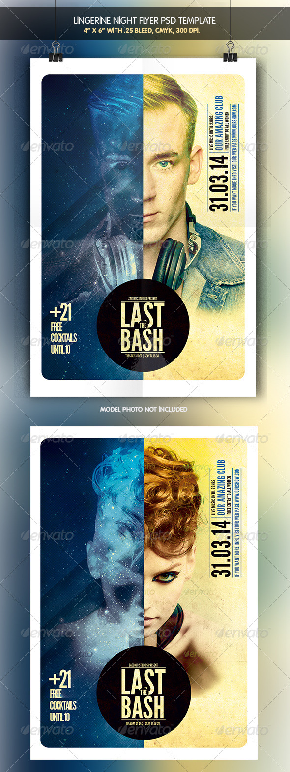 GraphicRiver Last Bash Flyer Template 7046689