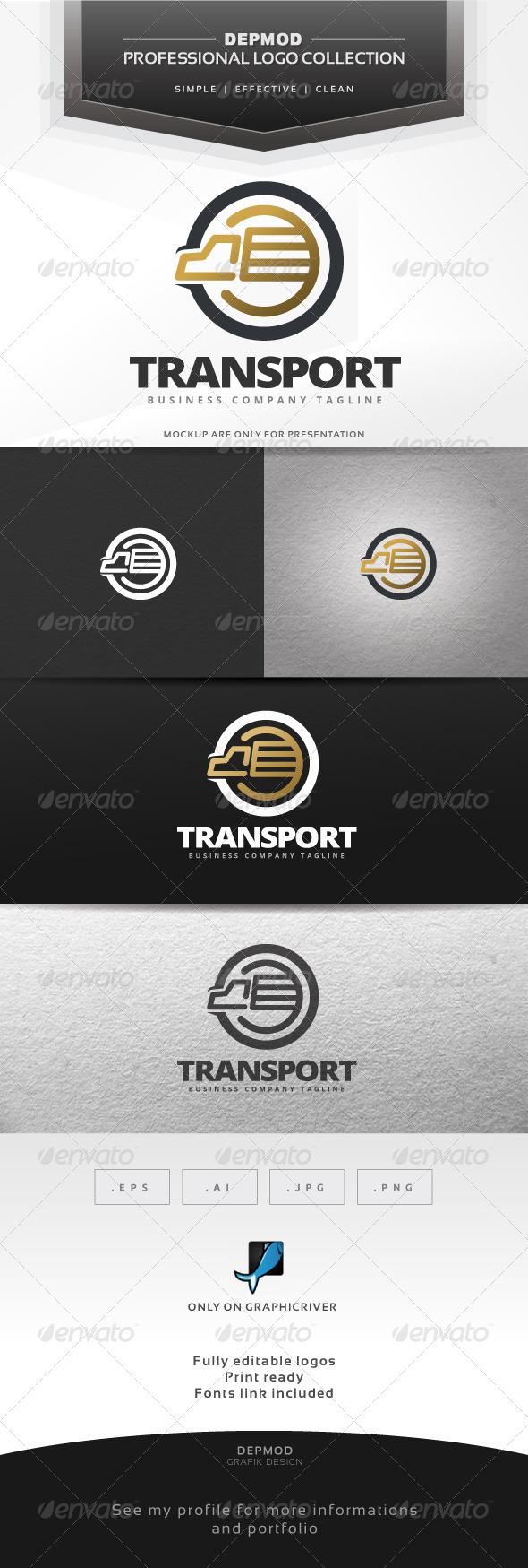 GraphicRiver Transport Logo 7047217