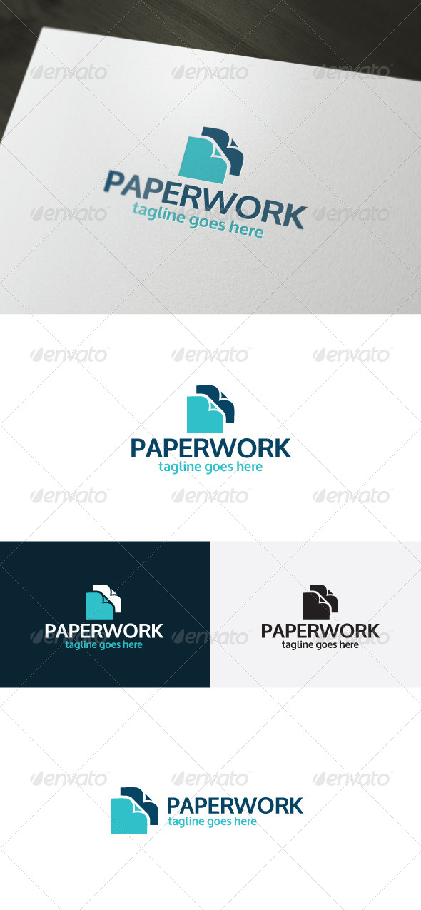 GraphicRiver Paper Work Logo 7047246