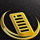 Server, Moon Vector Logo Template