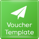 CSS3 Coupon Voucher Template