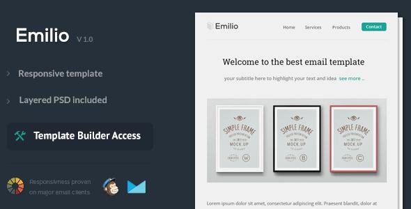 Emilio - Responsive Email Template