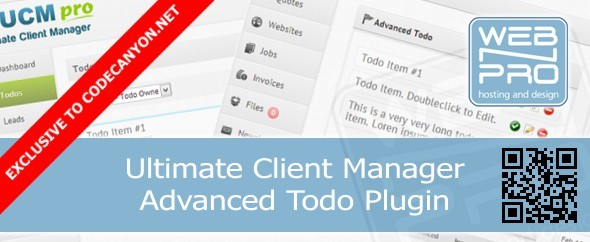 CodeCanyon UCM Plugin Advanced Todo 7048267