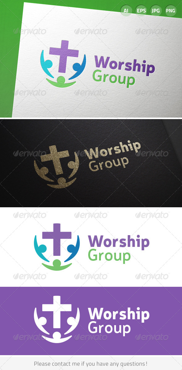 GraphicRiver Worship Church Group 7014125