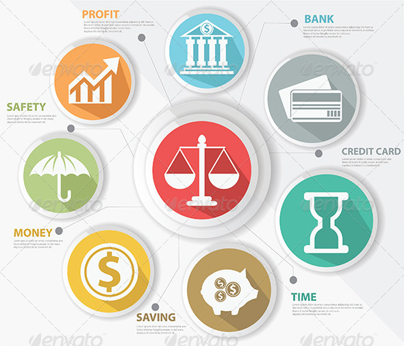 GraphicRiver Finance Concept Infographics 6896167