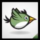 Green Bird Sprite Sheet - GraphicRiver Item for Sale