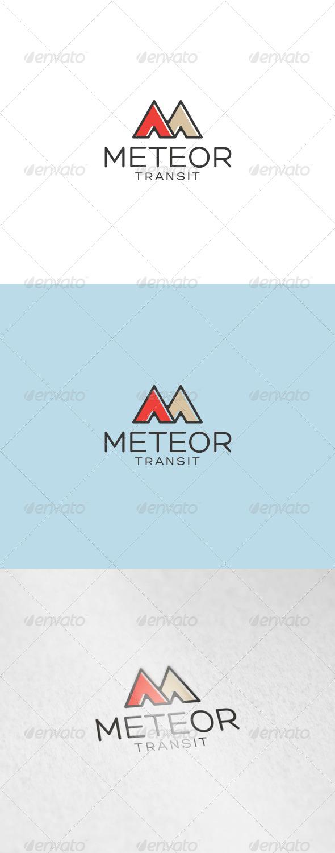 GraphicRiver Meteor Logo 7048495