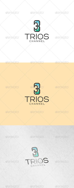 GraphicRiver Trios Logo 7048509