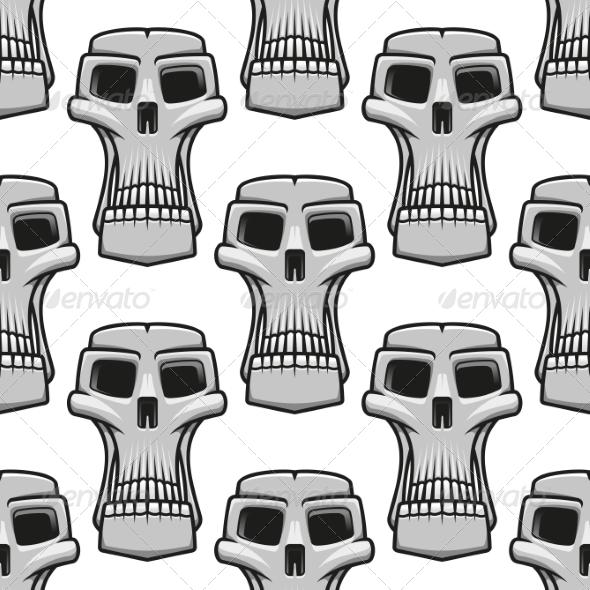 GraphicRiver Skull Pattern 7049082