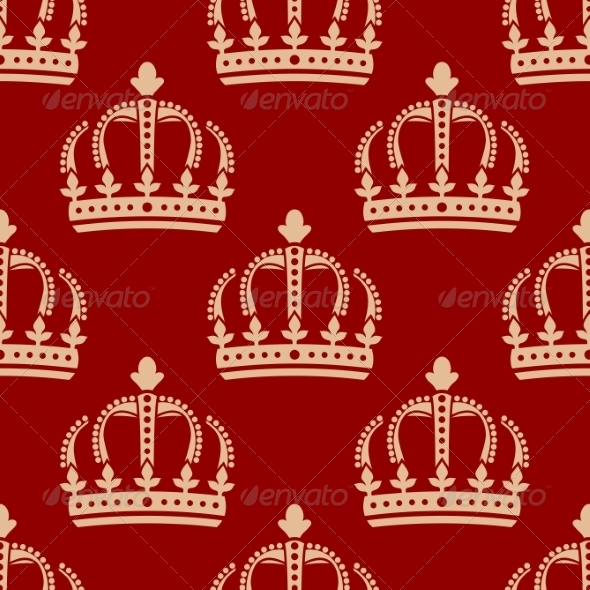 GraphicRiver Crown Pattern 7049091