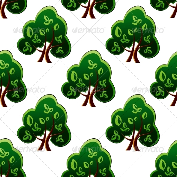 GraphicRiver Tree Pattern 7049107