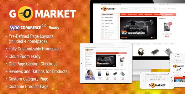 ThemeForest WooCommerce Supermarket Theme GoMarket 7049228