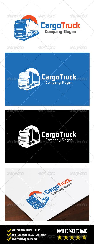 GraphicRiver Cargo Truck Logo 7049231