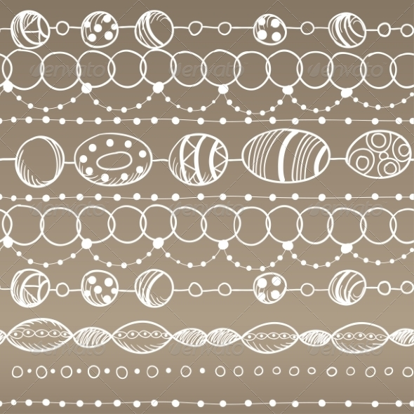 GraphicRiver Seamless Pattern with Lacy Design 7049400