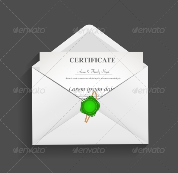 GraphicRiver Envelope with Stamp Vector Illustration 7049930