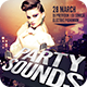 Party Sounds Flyer - GraphicRiver Item for Sale