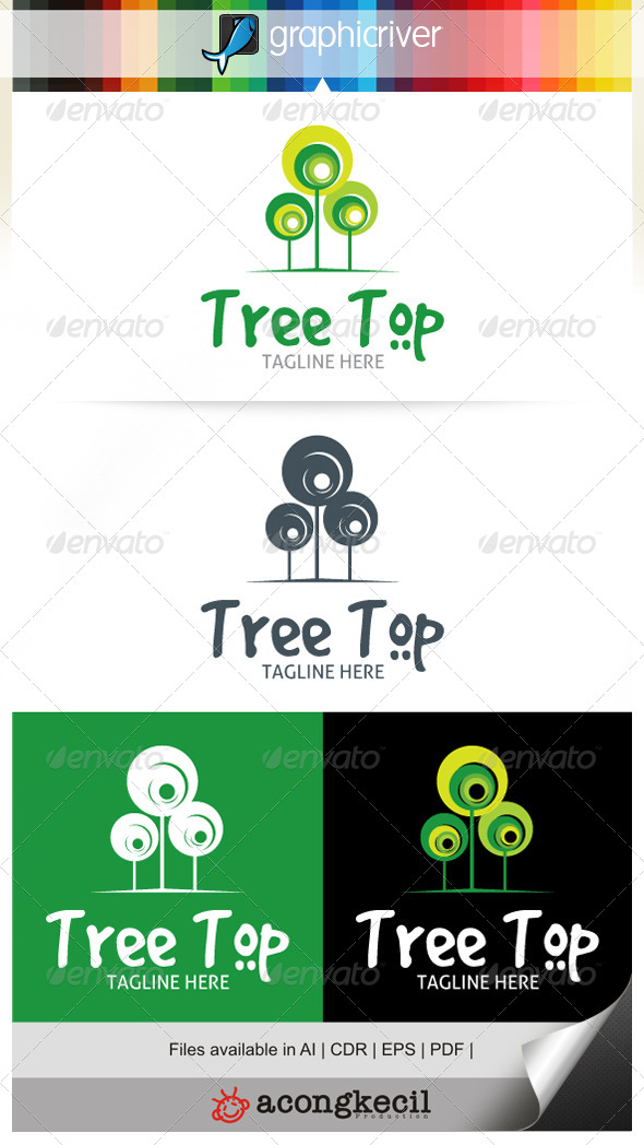 GraphicRiver Tree Top 7050871