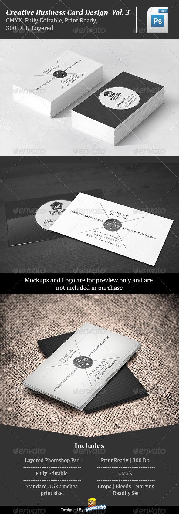 GraphicRiver Creative Business Card Design Vol.3 7041128