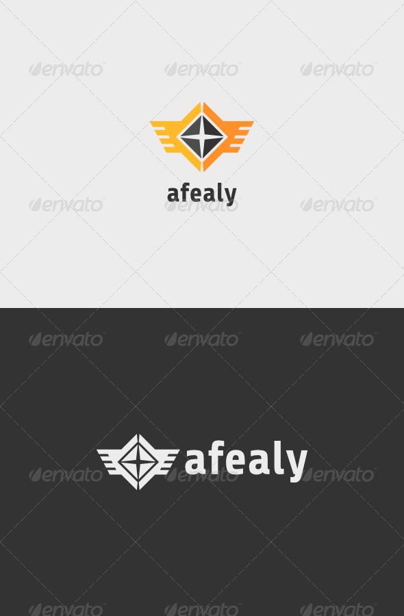 GraphicRiver Aviation Afealy Logo 7051665