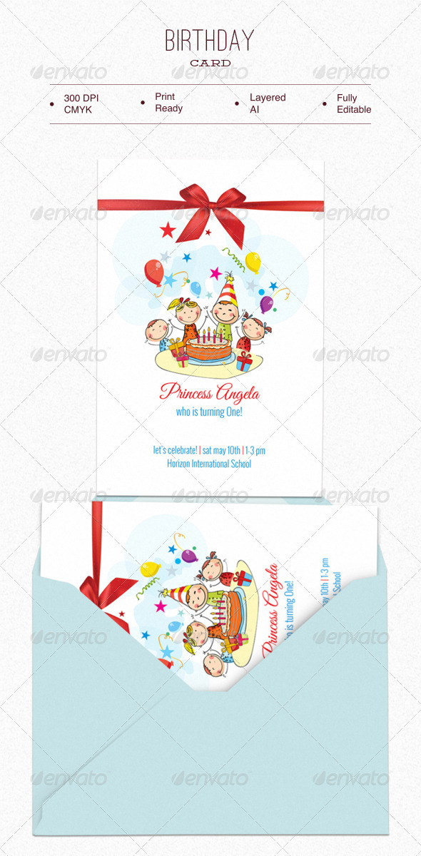 GraphicRiver Birthday Card 7052118