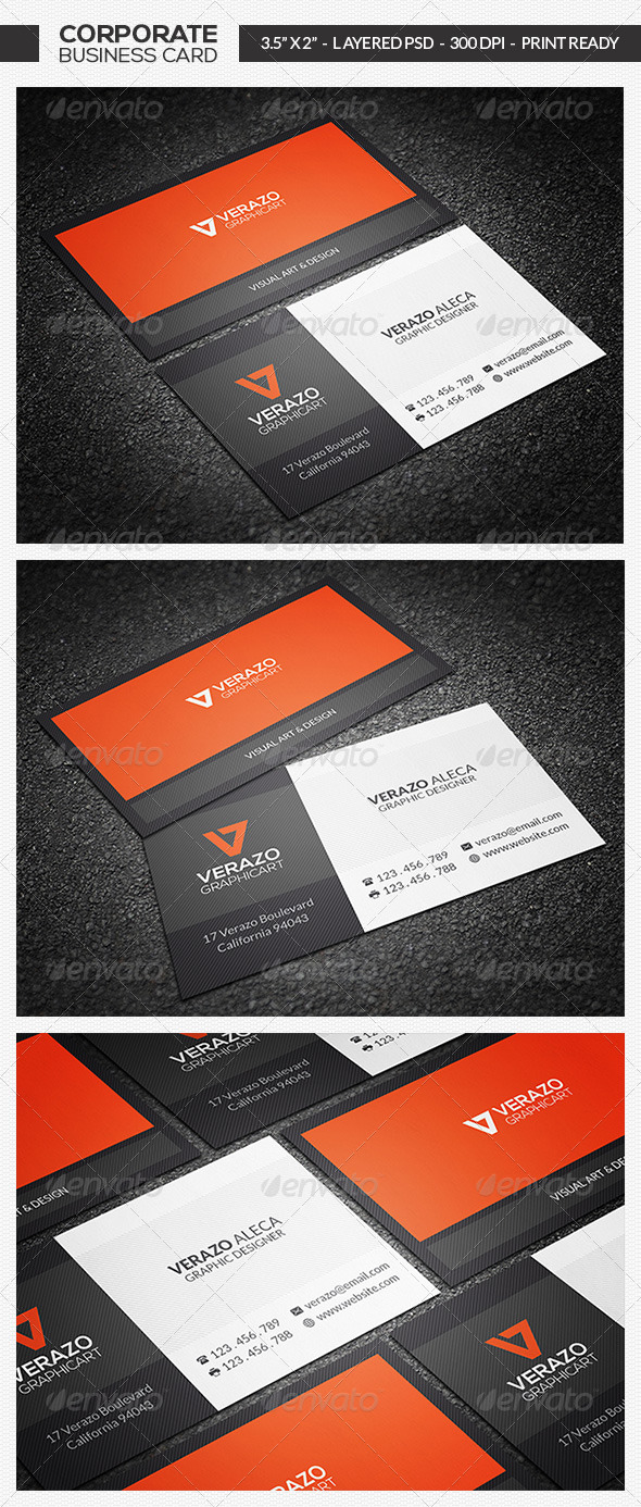 GraphicRiver Creative Corporate Business Card 7052329