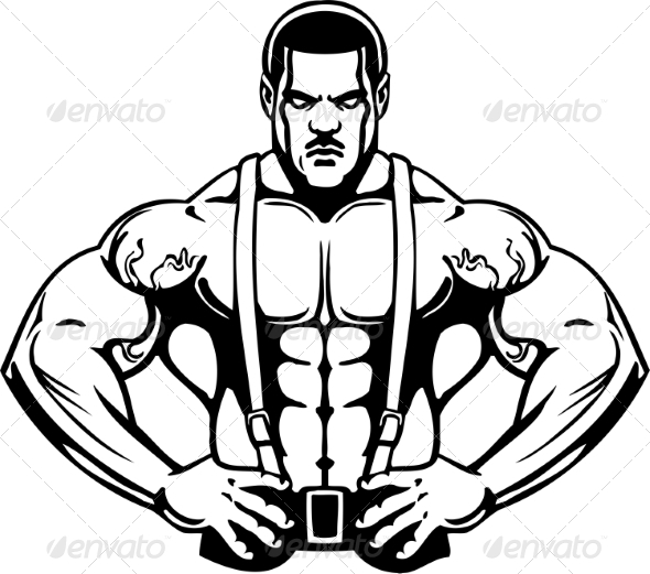 GraphicRiver Bodybuilding and Powerlifting 7052529