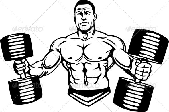 GraphicRiver Bodybuilding and Powerlifting 7052550