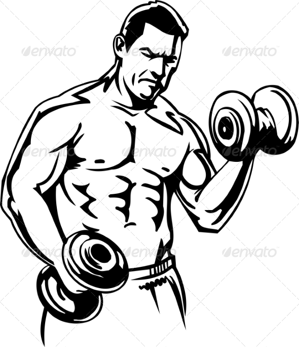 GraphicRiver Bodybuilding and Powerlifting 7052667