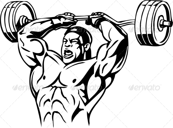GraphicRiver Bodybuilding and Powerlifting 7052688
