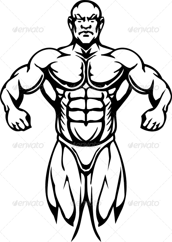 GraphicRiver Bodybuilding and Powerlifting 7052701