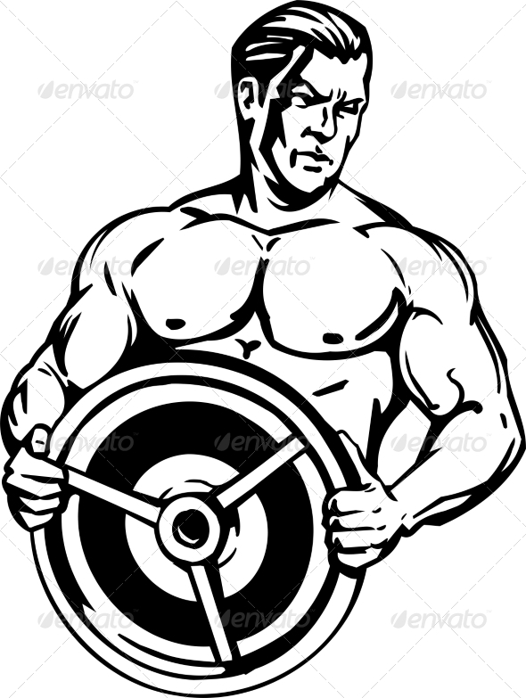 GraphicRiver Bodybuilding and Powerlifting 7052737