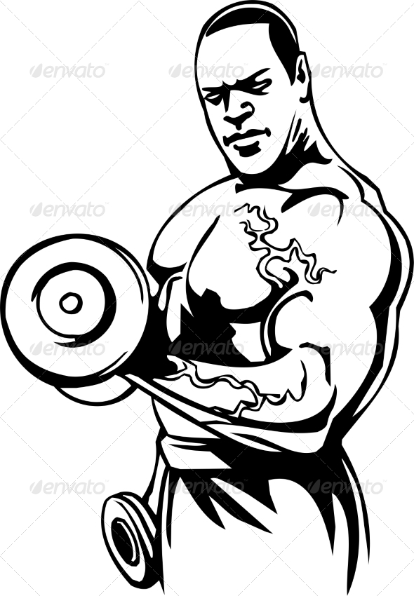 GraphicRiver Bodybuilding and Powerlifting 7052760