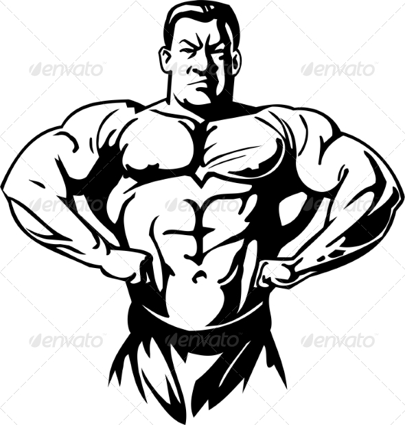 GraphicRiver Bodybuilding and Powerlifting 7052779