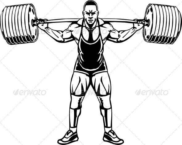 GraphicRiver Bodybuilding and Powerlifting 7052793