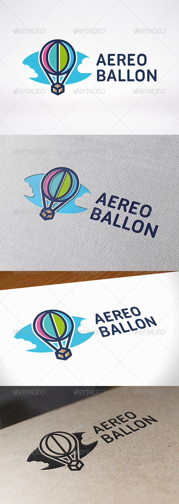 GraphicRiver Air Balloon Logo Template 7052836