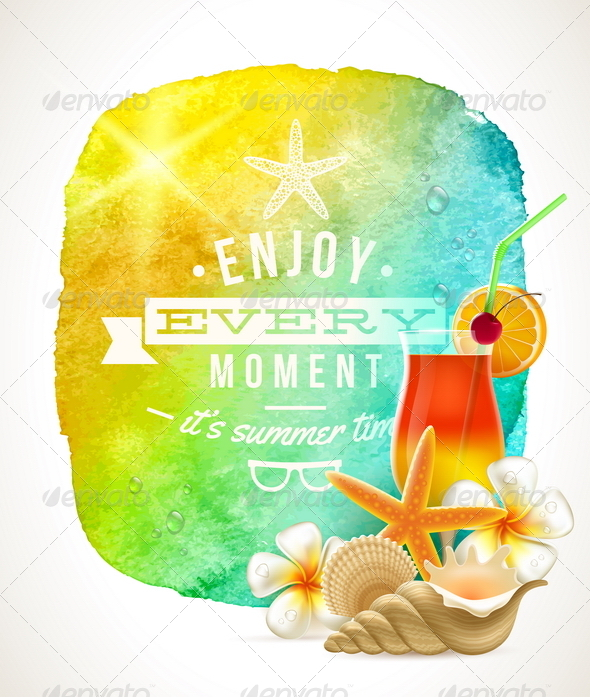 GraphicRiver Summer Time Greeting 7052927