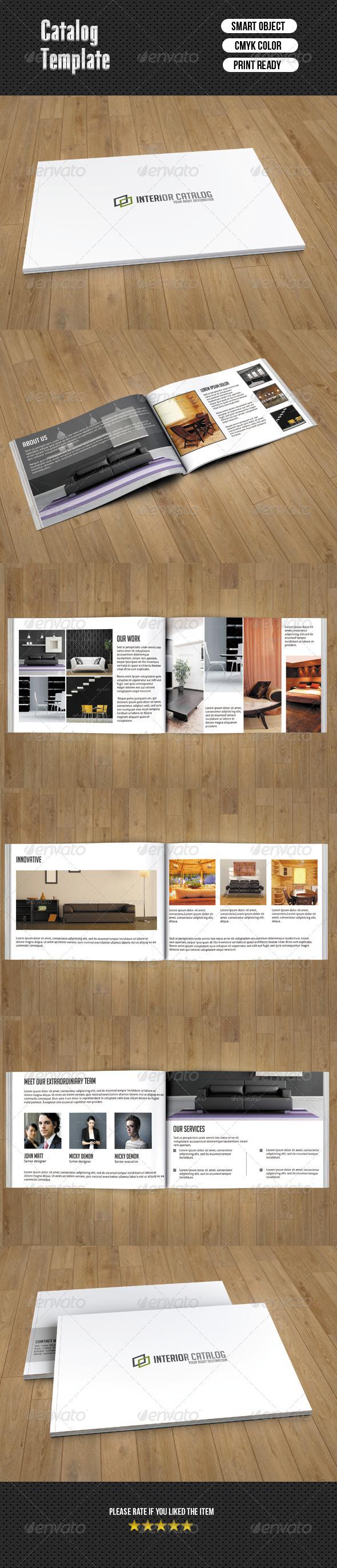 GraphicRiver Interior Catalog 7053743