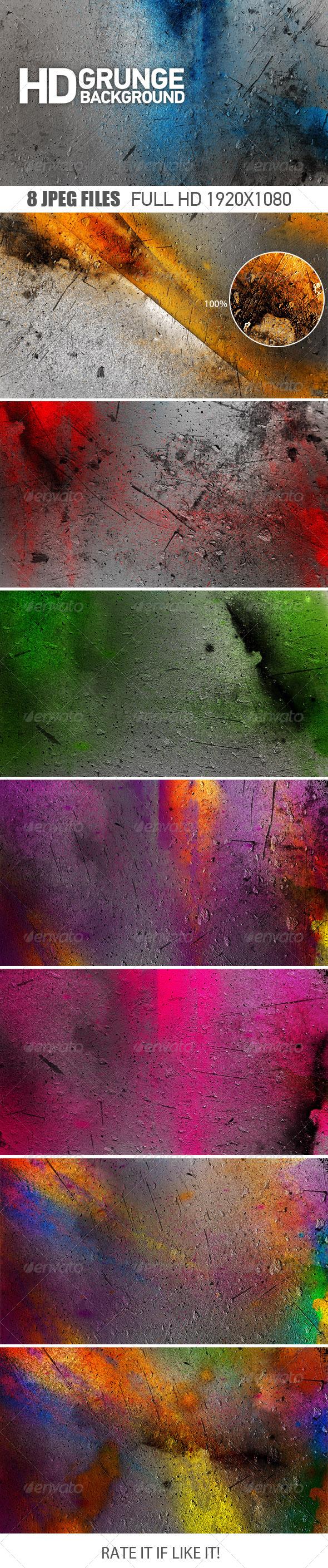 GraphicRiver Grunge Background 7054015