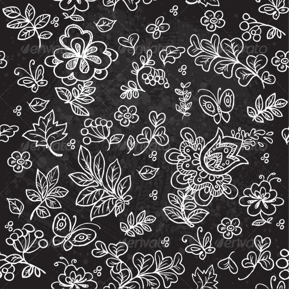 GraphicRiver Flower Pattern 7054280
