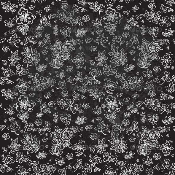GraphicRiver Flower Pattern 7054337
