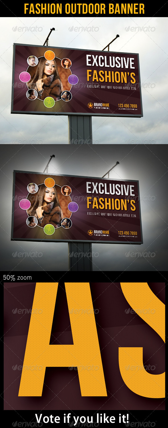 Fashion Outdoor Banner 21