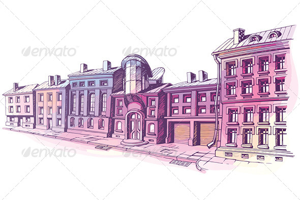 GraphicRiver City Street 7055335