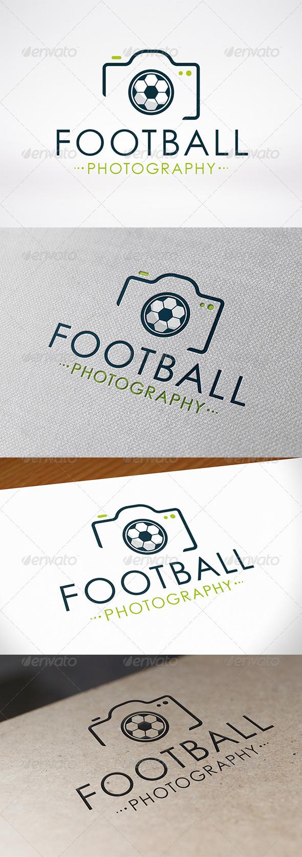 GraphicRiver Photo Football Logo Template 7055336