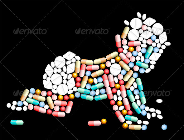 GraphicRiver Tablets Pills Baby 7055546