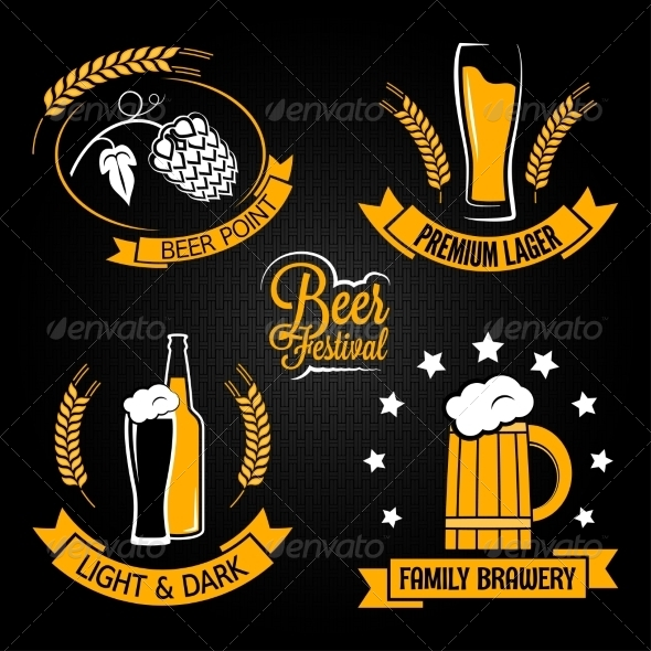 GraphicRiver Beer Lables 7055553