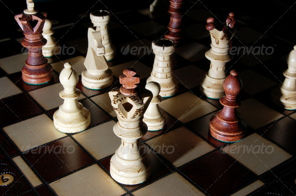 chess board - Stock Photo - Images