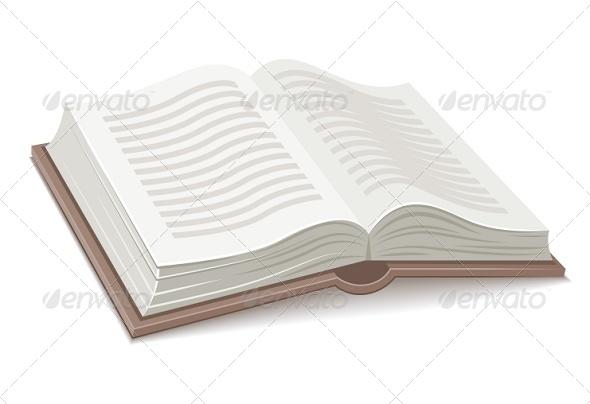 GraphicRiver Book with Open Spread 7055669