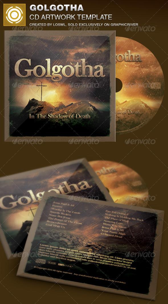 GraphicRiver Golgotha Church CD Artwork Template 7055712