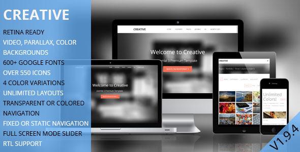 TD Creative - Responsive Joomla Template - Creative Joomla